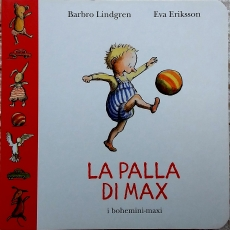 La palla di Max copertina
