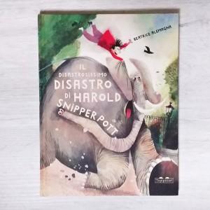 Harold Snipperpott copertina