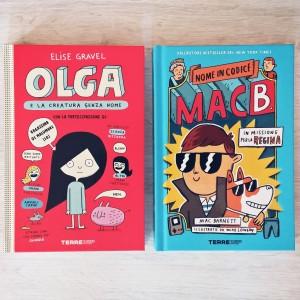 Olga e Mac B. copertine