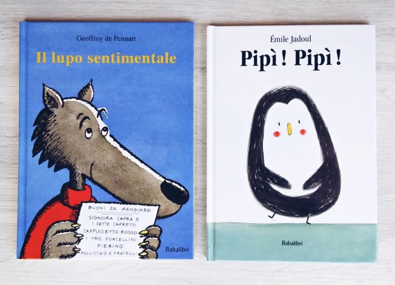 Il lupo sentimentale e Pipì pipì evidenza
