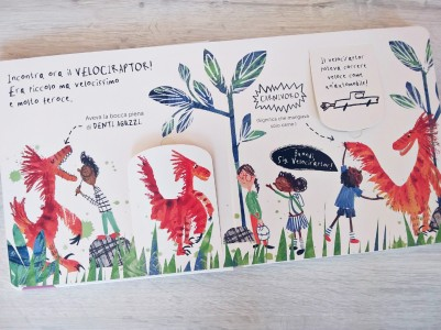 Velociraptor libro