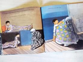 Il pescatore scheletro triste