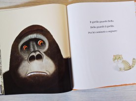 Bella e il gorilla legame
