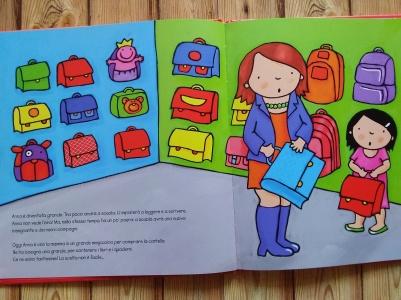 Anna va a scuola inizio