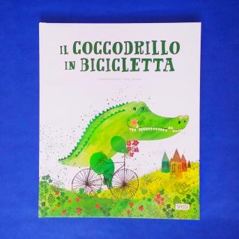 Il coccodrillo in bicicletta copertina