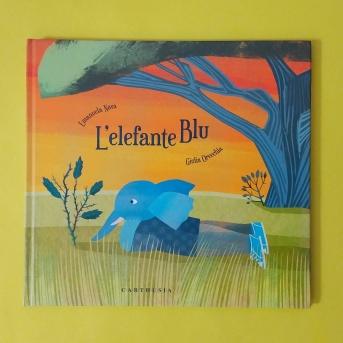Elefante blu