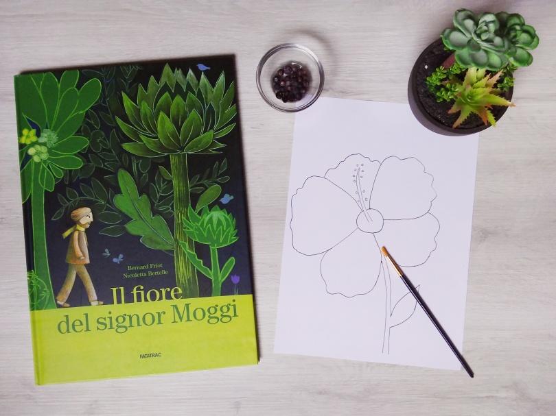 Il fiore del signor Moggi evidenza