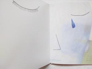 Bambina di vetro lacrima