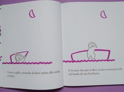 Harold in barca