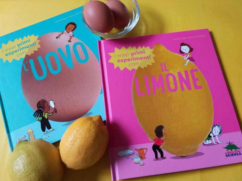 Esperimenti uovo e limone evidenza