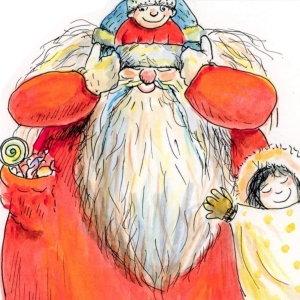 San Nicolò con bambini