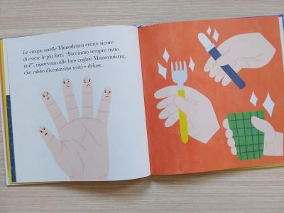 Sorelle cinque dita interno